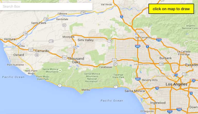 During the uploading process you'll select the area on a map where you want your filter to be available.